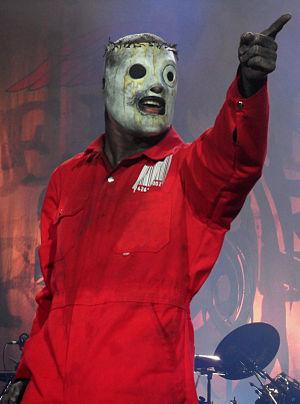 Italiano: Corey Taylor con gli Slipknot al Gra...